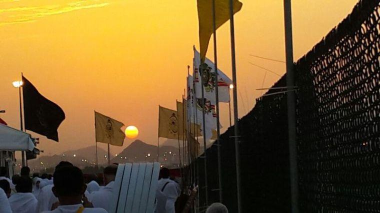 Sunset di Padang Arafah