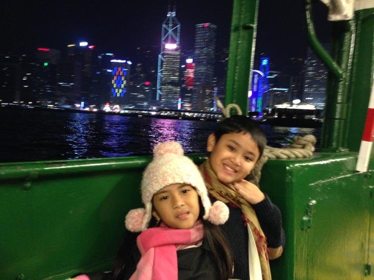 Diatas Kapal Star Ferry