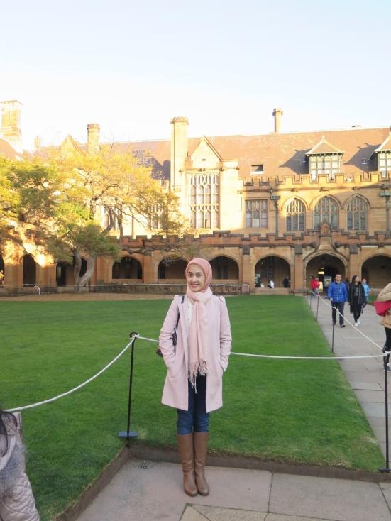 Quadrangle Building at The University of Sydney