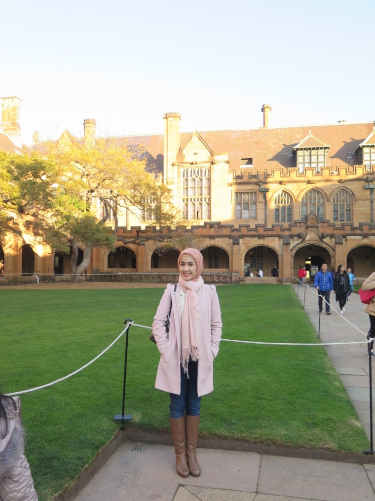 Quadrangle Building at The University of Sydney