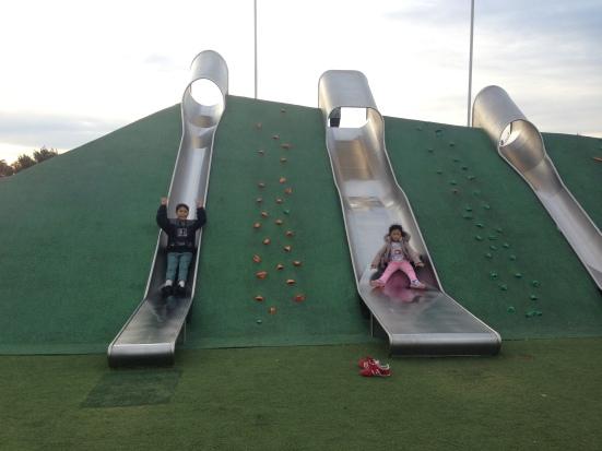Giant slides @Blaxland