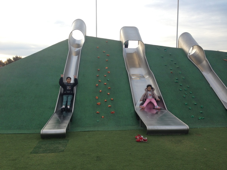 Giant slides @Blaxland