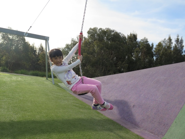 Swing Girl @Blaxland